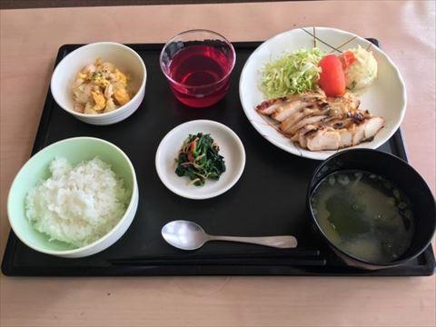 ほうじゅ通常食の昼食例
