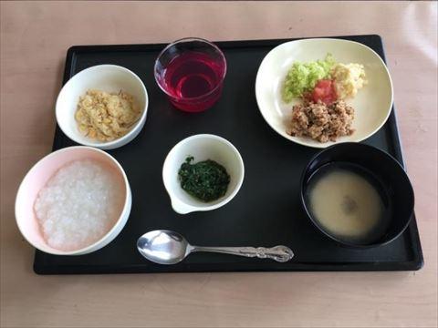 ほうじゅ介護食の昼食例